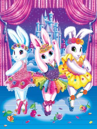Ballerina Bunnies by Lisa Frank
