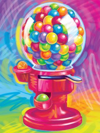 Brushstroke Gumball by Lisa Frank