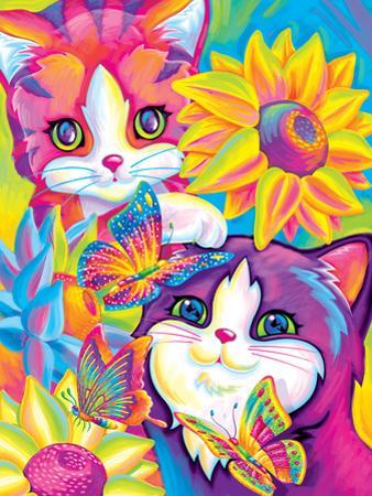 Brushstroke Kittens by Lisa Frank