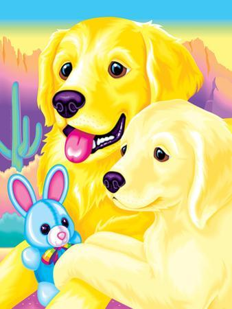 Casey and Caymus '93 by Lisa Frank