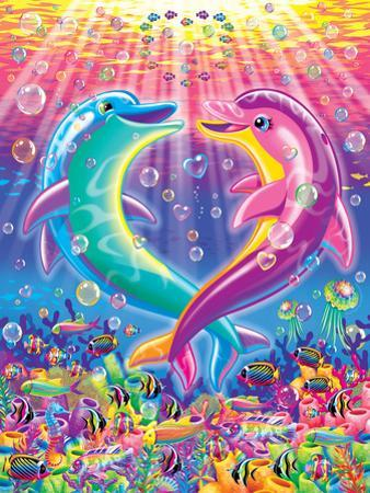 Dancing Dolphins by Lisa Frank