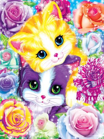 Kitten Roses by Lisa Frank