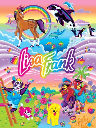 LF Collage II '94 by Lisa Frank