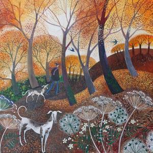 Autumn on the Common,2017 by Lisa Graa Jensen