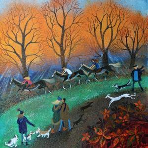 Ponies on the Common, 2017 by Lisa Graa Jensen
