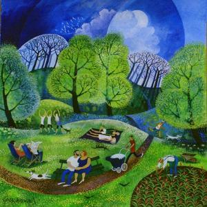 Tai Chi in the Park (2009) by Lisa Graa Jensen