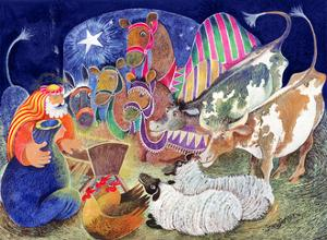 The Nativity by Lisa Graa Jensen