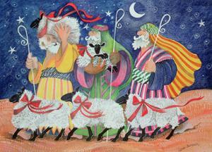 Three Shepherds by Lisa Graa Jensen