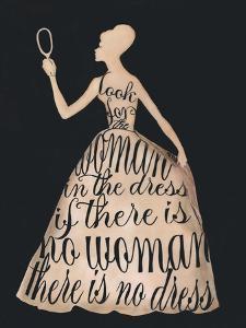 Script Dress by Lisa Jones