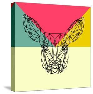 Baby Deer Polygon by Lisa Kroll