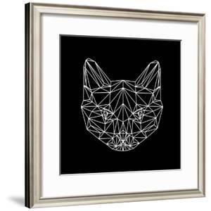 Black Cat Polygon by Lisa Kroll