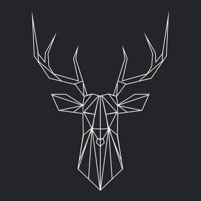 Deer Polygon by Lisa Kroll