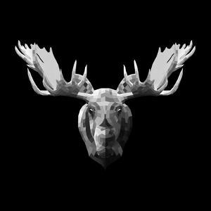 Moose Head by Lisa Kroll