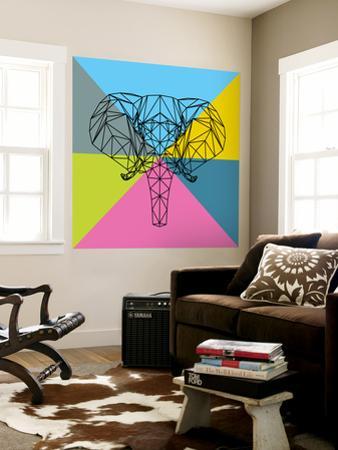 Party Elephant Polygon 2