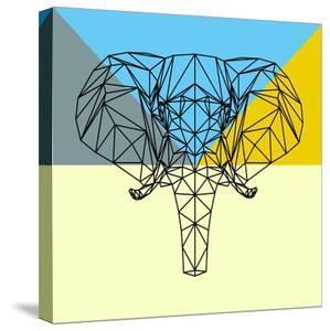 Party Elephant Polygon by Lisa Kroll