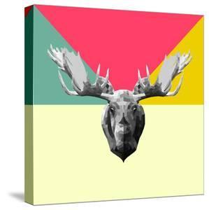 Party Moose by Lisa Kroll