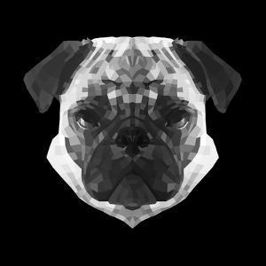 Pug Head by Lisa Kroll