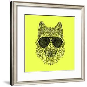 Woolf in Black Glasses by Lisa Kroll