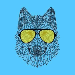 Woolf in Yellow Glasses by Lisa Kroll