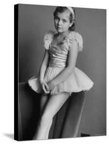 Anne Charlotte Bjoerling, Daughter of Swedish Tenor Jussi Bjoerling by Lisa Larsen