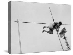 Soviet Athlete Training For the Olympics by Lisa Larsen