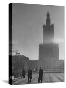 The Communist Palace of Culture and Science Building by Lisa Larsen