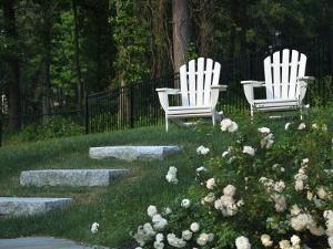 Adirondack Chairs, Marshfield, Massachusetts, USA by Lisa S^ Engelbrecht