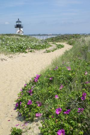 Brant Lighthouse, Nantucket Harbor, Nantucket, Massachusetts, USA