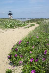 Brant Lighthouse, Nantucket Harbor, Nantucket, Massachusetts, USA by Lisa S^ Engelbrecht