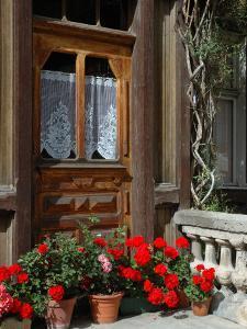 Entrance to Chalet Maria, Zermatt, Switzerland by Lisa S. Engelbrecht