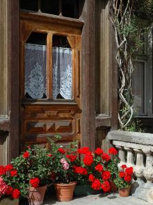 Entrance to Chalet Maria, Zermatt, Switzerland by Lisa S^ Engelbrecht