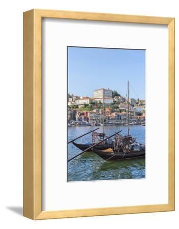 Europe, Portugal, Oporto, Douro River, Rabelo Boats
