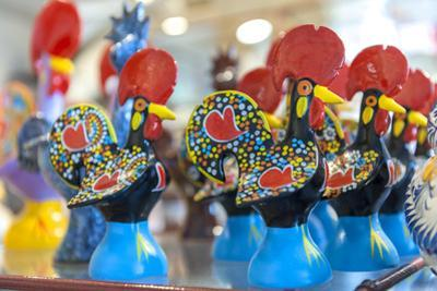 Europe, Portugal, Sintra, Black Rooster Souvenirs