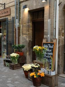 Florist Shop, Languedoc-Roussillon, France by Lisa S. Engelbrecht