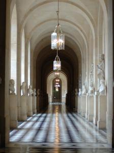Hallway, Versailles, France by Lisa S^ Engelbrecht