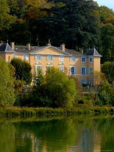 Home along the Saone River, France by Lisa S. Engelbrecht