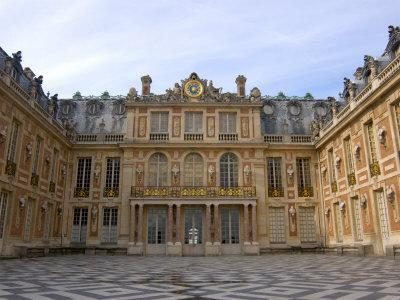 Marble Courtyard, Versailles, France