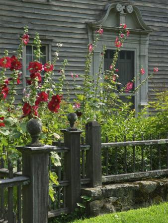 Mission House Front Door, Stockbridge, Berkshires, Massachusetts, USA