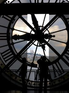 Musee d'Orsay's Clock Window, Paris, France by Lisa S^ Engelbrecht