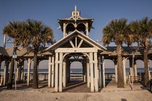 New Smyrna Beach Boardwalk, Florida, USA by Lisa S. Engelbrecht