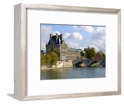 Pont Royal and the Louvre Museum, Paris, France
