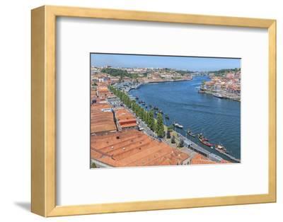 Portugal, Oporto, Douro River, Overlook of the City of Gaia