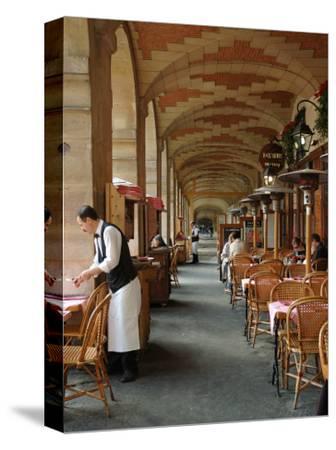 Sidewalk Cafe in the Marais, Paris, France