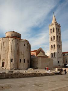 St. Donatus' Church and Bell Tower, Zadar, Croatia by Lisa S. Engelbrecht
