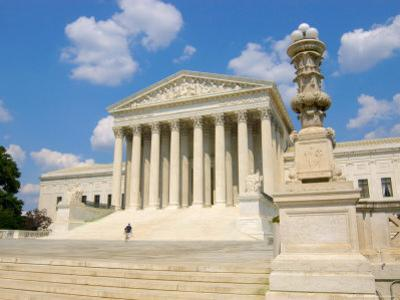 Supreme Court Building, Washington DC, USA by Lisa S. Engelbrecht