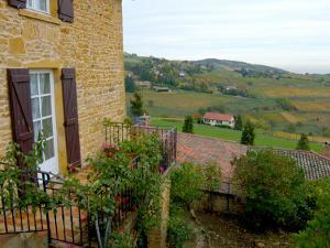 View of Countryside in Olingt, Burgundy, France by Lisa S. Engelbrecht