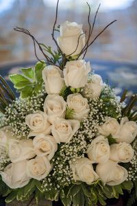 Wedding Floral Centerpiece, Bavaro, Higuey, Punta Cana, Dominican Republic by Lisa S. Engelbrecht
