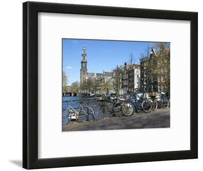 Westerkerk, Prinsengracht, Amsterdam, South Holland, Netherlands