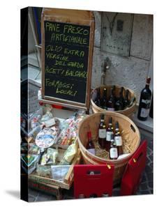 Wine and Cheese Shop, Lake Garda, Bardolino, Italy by Lisa S^ Engelbrecht