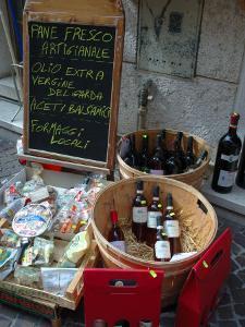 Wine and Cheese Shop, Lake Garda, Bardolino, Italy by Lisa S. Engelbrecht
